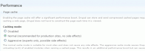Caching on Drupal