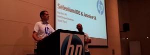 רן מרצה ב-HP Software