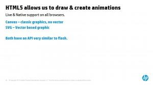 דרכים שונות ליצירת אנימציות וגרפיקה