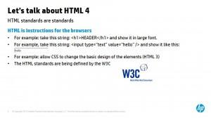 אודות תקן HTML 4