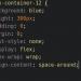 קוד CSS של פלקסבוקס