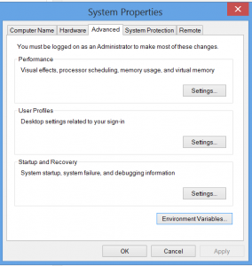 windows system variable screen 1