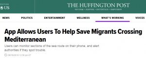 App Allows Users To Help Save Migrants Crossing Mediterranean