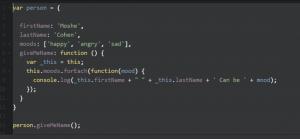 javascript קוד