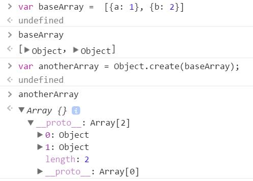 אפשר להשתמש ב-object create לכל דבר. כל דבר הוא אובייקט.