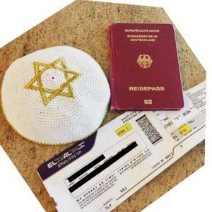 תמונה אמיתית מאינסטגרם של מישהו שטס לישראל וחזרה