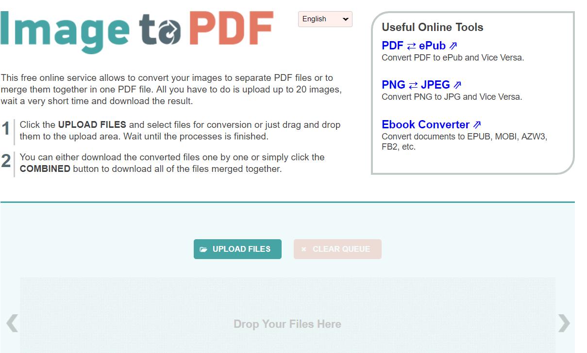 image2pdf - אחד האתרים שנפרצו