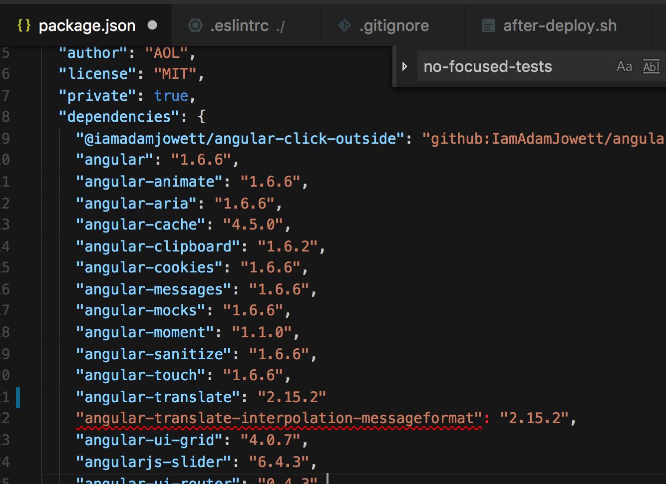 הודעת שגיאה מיידית של eslint שמוצגת ב visual studio code