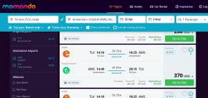 אתר השוואת מחירים בטיסה להולנד
