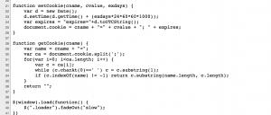 דוגמה לקוד לא מאובטח מהאתר של רמיני