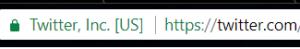 twitter URL