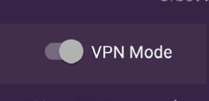 הפעלת מצב VPN  בתוכנת Orbot לנייד